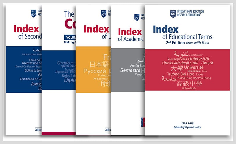 Index of Secondary Credentials - For Institutions - IERF